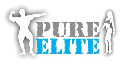 pure elite competition logo